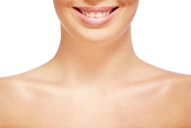 Double chins Neck waddles and what you can for the chin area